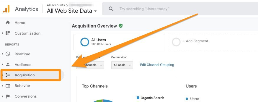 Google acquisition analytics