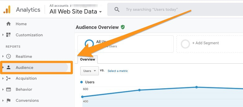 Google audience analytics