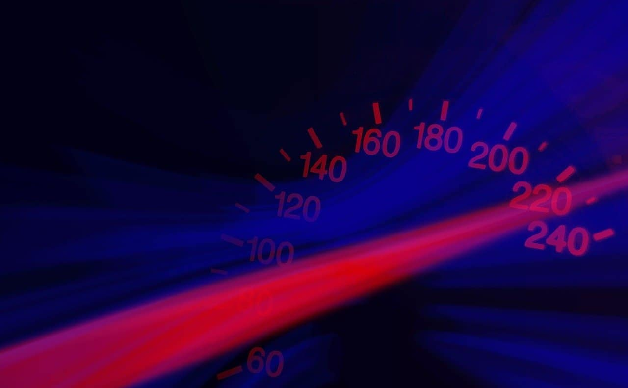 Website speedometer