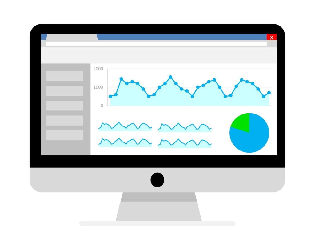 Illustration of how Google Analytics works