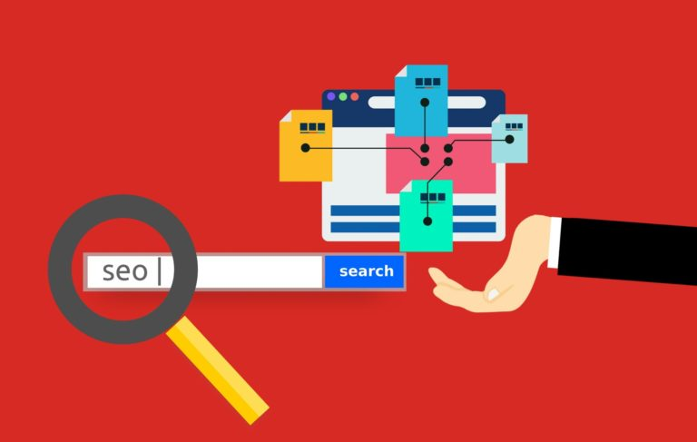 Illustration of SEO and site architecture