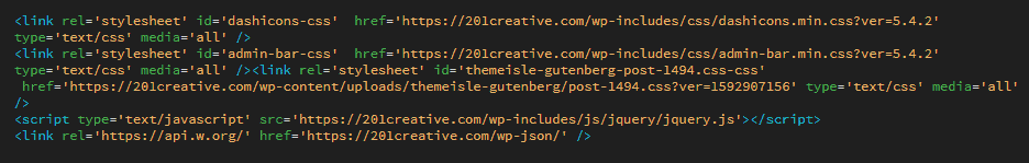 Sample of a domain migration code with direct links