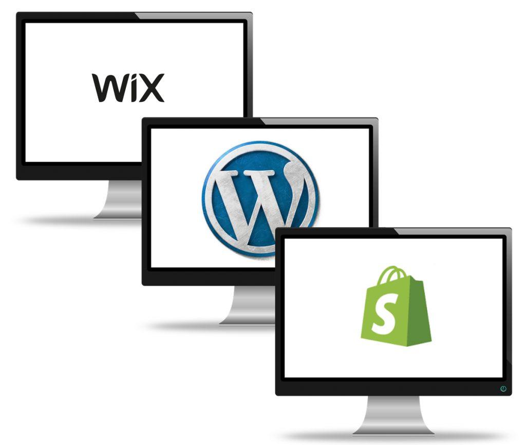 Wix to WordPress CMS Migration diagram