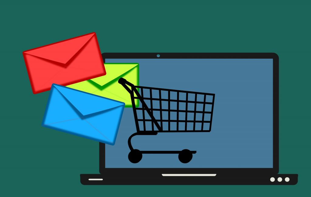Illustration of how email marketing affects checkout sales